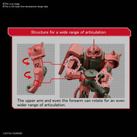Gundam 1/144 HGUC #234 Gundam 0079 MS-06S Char Aznables Zaku II Model Kit