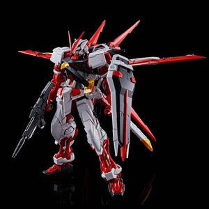 Gundam 1/100 MG Gundam Seed MBF-P02 Astray Red Frame Flight Unit Lowe Guele's Use Mobile Suit Model Kit Exclusive