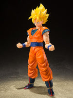 S.H. Figuarts Dragon Ball Z Super Saiyan Full Power Son Goku Action Figure