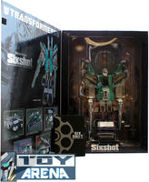 Transformers Sixshot Animate Fest Metallic Color Redeco Asia Exclusive