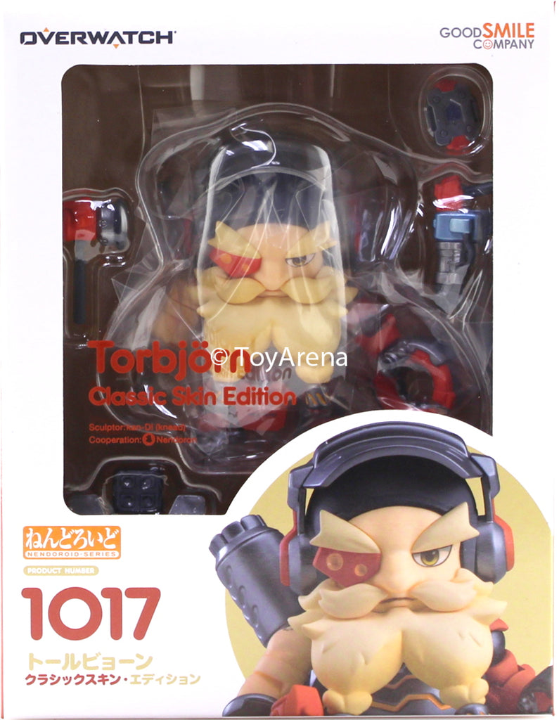 Nendoroid #1017 Torbjorn Classic Skin Edition Overwatch