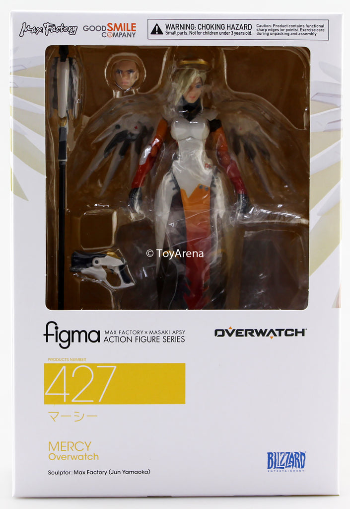 Figma #427 Mercy Overwatch Action Figure