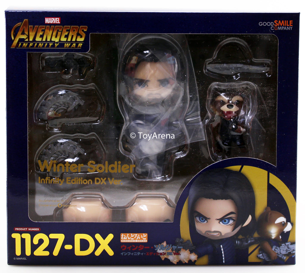 Nendoroid #1127-DX Winter Soldier (Infinity Edition) Marvel Avengers: Infinity War