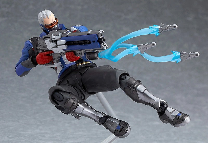 Figma #475 Soldier: 76 Overwatch Action Figure Exclusive