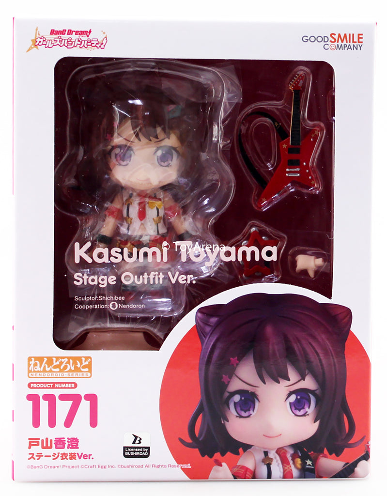 Nendoroid #1171 Kasumi Toyama (Stage Outfit Ver.) BanG Dream! Girls Band Party!