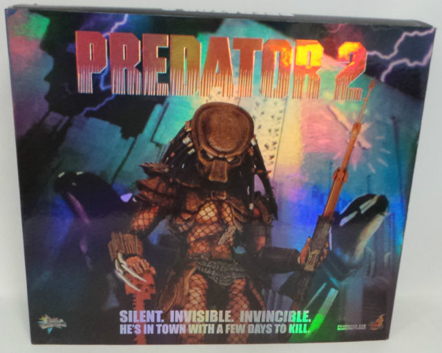Hot Toys 1/6 Predator 2 Predator Special Feature Sixth Scale Figure MMS45