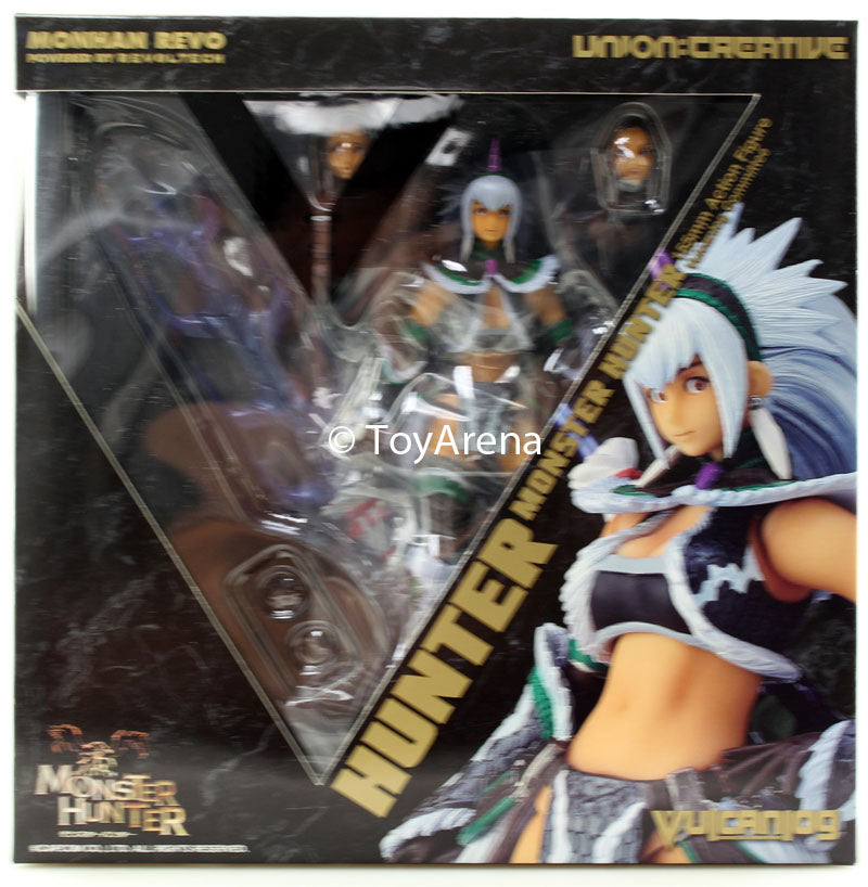 Monhan Revo #021 Hunter Female Woman Swordsman Monster Hunter Revoltech Vulcanlog