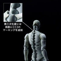 1000toys (Sen-Toys) TOA Heavy Industries Synthetic Human Green / White Action Figure Third Release