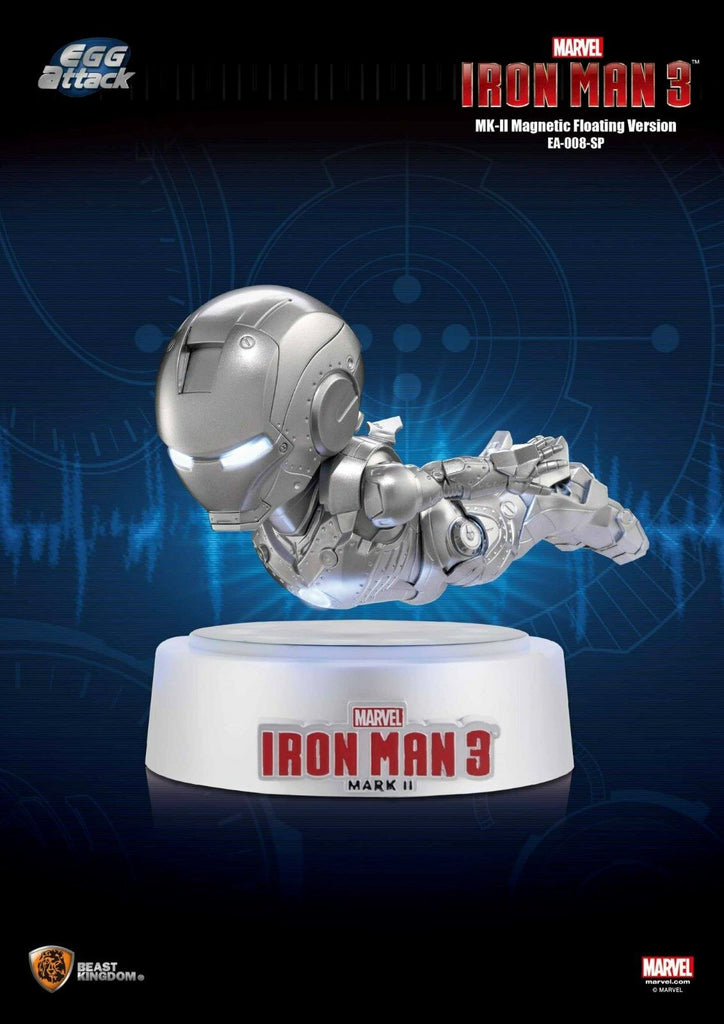 Egg Attack Iron Man 3 Magnetic Floating Iron Man Mark 2 Action Figure