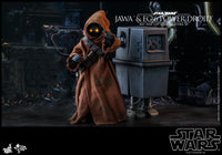 Hot Toys 1/6 Star Wars ANH Jawa & EG-6 Power Droid 1/6 Scale Collectible Figure Two-Pack MMS554 Action Figure 2