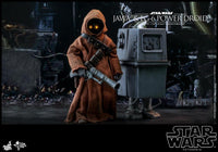 Hot Toys 1/6 Star Wars ANH Jawa & EG-6 Power Droid 1/6 Scale Collectible Figure Two-Pack MMS554 Action Figure 4