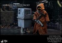 Hot Toys 1/6 Star Wars ANH Jawa & EG-6 Power Droid 1/6 Scale Collectible Figure Two-Pack MMS554 Action Figure 5