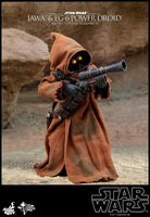 Hot Toys 1/6 Star Wars ANH Jawa & EG-6 Power Droid 1/6 Scale Collectible Figure Two-Pack MMS554 Action Figure 7