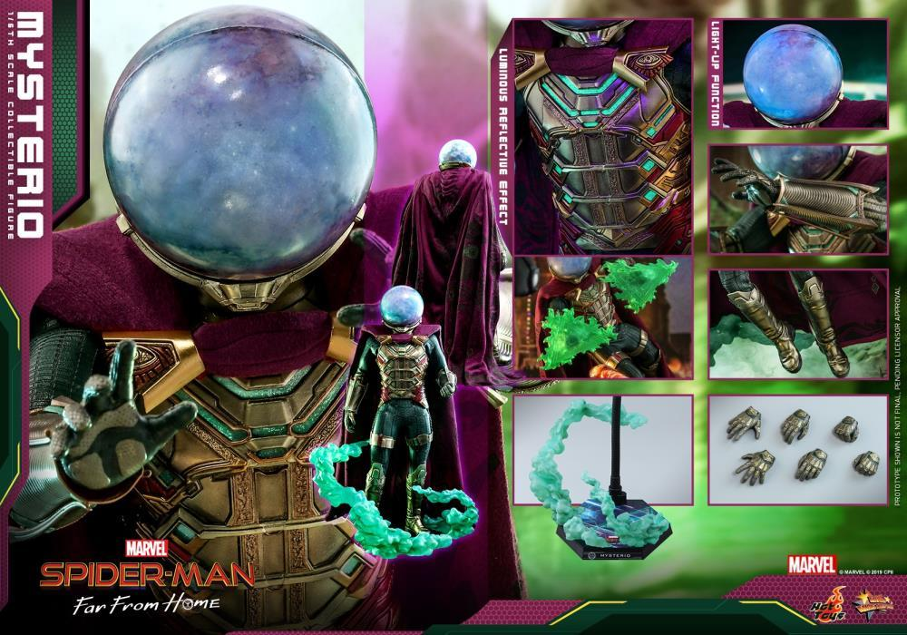 Hot Toys 1/6 Marvel Mysterio Spider-Man Far From Home Sixth Scale MMS556 Action Figure 1