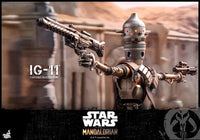 Hot Toys 1/6 Star Wars The Mandalorian 1/6 IG-11 Scale Collectible Figure TMS008 Action Figure 7