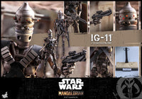 Hot Toys 1/6 Star Wars The Mandalorian 1/6 IG-11 Scale Collectible Figure TMS008 Action Figure