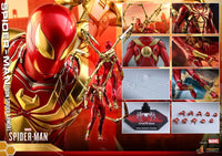 Hot Toys 1/6 2018 Spider-Man Video Game Iron Spider Scale Action Figure VGM38 1