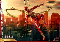 Hot Toys 1/6 2018 Spider-Man Video Game Iron Spider Scale Action Figure VGM38 2
