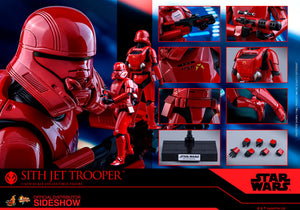 Hot Toys 1/6 Star Wars Episode IX The Rise of Skywalker Sith Jet Trooper MMS562 Sixth Scale Figure