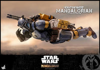 Hot Toys 1/6 Star Wars The Mandalorian Heavy Armor Mandalorian Sixth Scale Figure TMS010 5