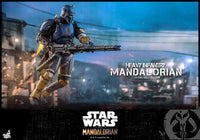 Hot Toys 1/6 Star Wars The Mandalorian Heavy Armor Mandalorian Sixth Scale Figure TMS010 6
