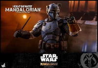 Hot Toys 1/6 Star Wars The Mandalorian Heavy Armor Mandalorian Sixth Scale Figure TMS010 8
