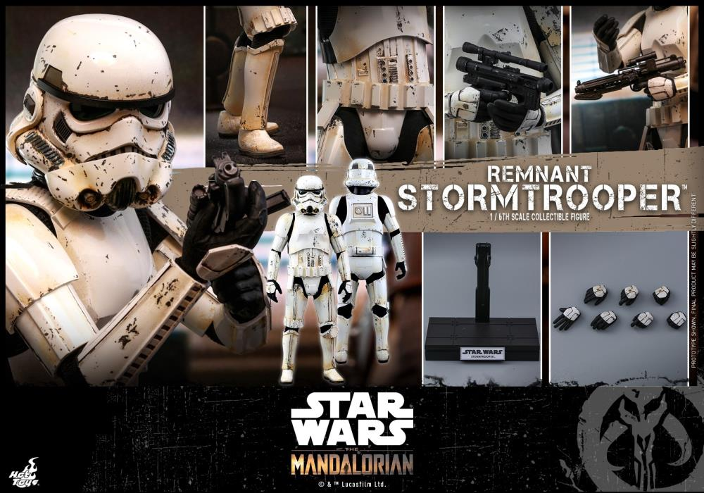 Hot Toys 1/6 Star Wars The Mandalorian Remnant Stormtrooper Sixth Scale Figure TMS011 1