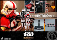 Hot Toys 1/6 Star Wars The Mandalorian Incinerator Stormtrooper TMS012 Sixth Scale Figure