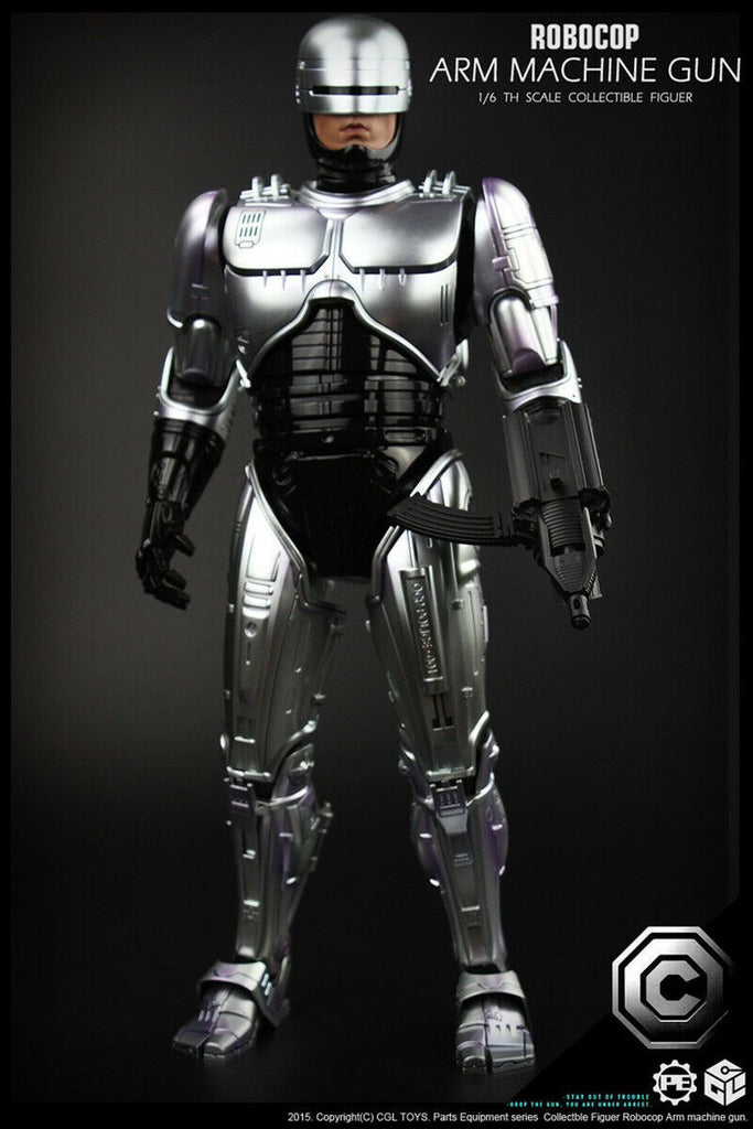 Hot Toys 1/6 Robocop Scale Action Figure MMS26 1
