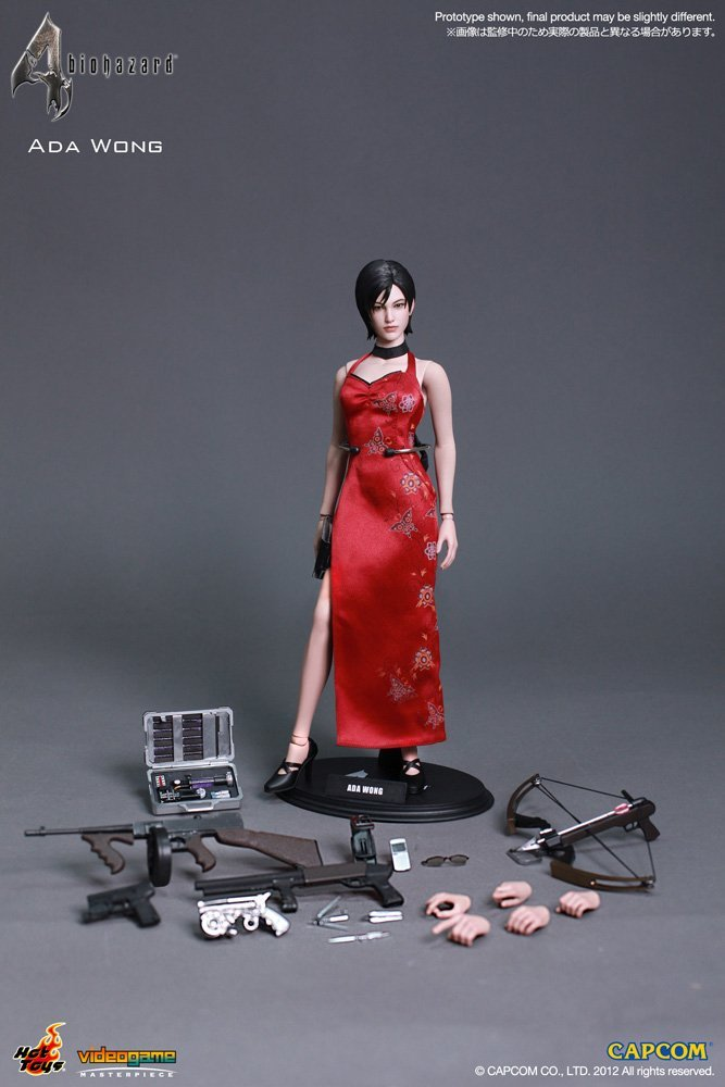 Hot Toys Resident Evil 4 HD Ada Wong 1/6 Scale Action Figure VGM16