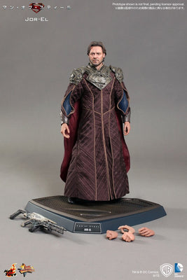Hot Toys Superman Man of Steel Jor-El 1/6 Scale Action Figure MMS201