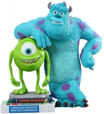 Hot Toys Mike & Sulley Monsters University Movie Masterpiece Vinyl Collectible Set