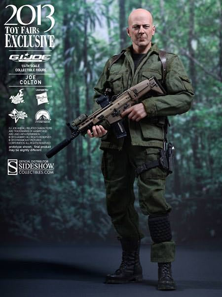 Hot Toys G.I. Joe Retaliation Joe Colton 1/6 Scale Action Figure MMS206