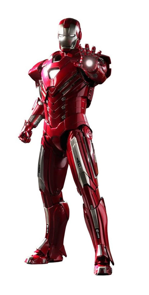 Hot Toys 1/6 Iron Man Silver Centurion Mark 33 Sixth Scale Figure MMS213