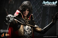 Hot Toys Captain Harlock Space Pirate Captain Harlock 12 Inch 1/6 Scale Action Figure MMS222