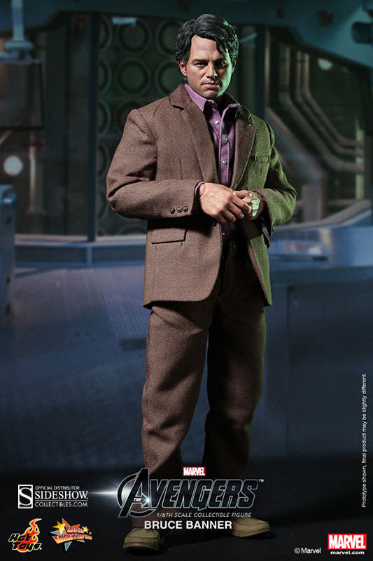 Hot Toys 1/6 Bruce Banner Sixth Scale Figure MMS229