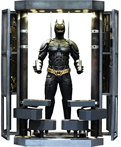 Hot Toys Batman Armory with Batman 12 Inch 1/6 Scale Action Figure MMS234