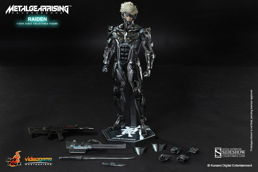 Hot Toys 1/6 Metal Gear Rising: Revengeance Raiden Sixth Scale Figure VGM17