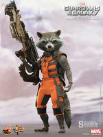 Hot Toys 1/6 Guardians of the Galaxy Movie Masterpiece Series Rocket Sixth Scale Figure MMS252