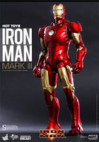 Hot Toys 1/6 Iron Man Mark III Diecast