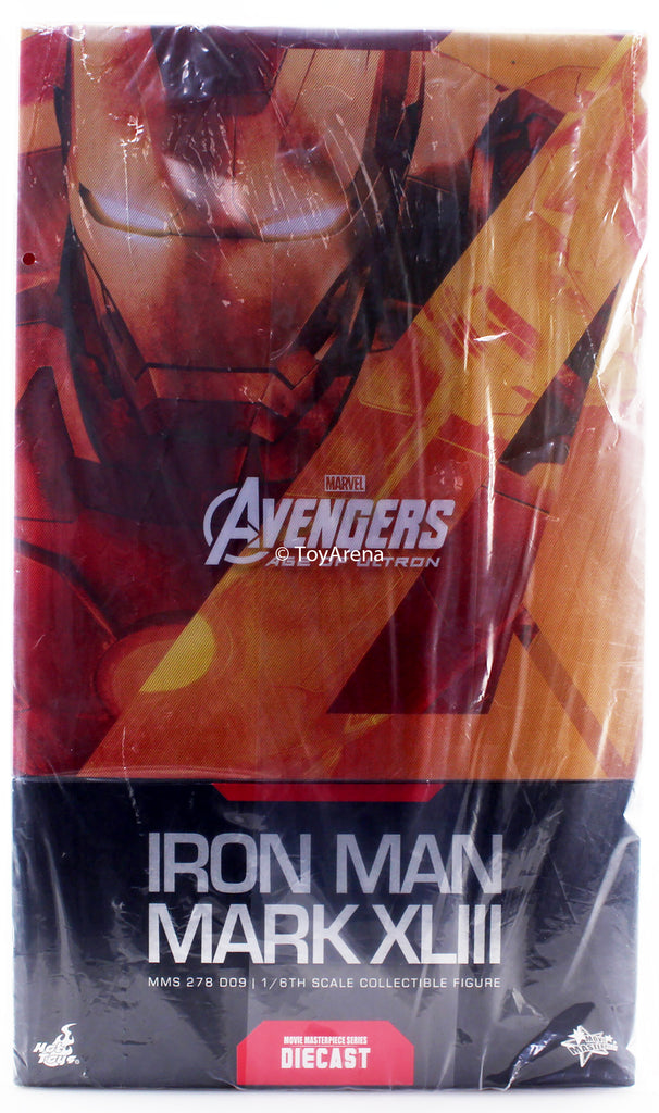 Hot Toys 1/6 Avengers: Age of Ultron Iron Man Mark XLIII MK 43 MMS278D09 Diecast Sixth Scale Figure