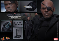 Hot Toys Captain America 2 The Winter Soldier: Nick Fury 1/6 Scale Action Figure MMS315