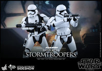 Hot Toys 1/6 First Order Stormtroopers Set Star Wars Episode VII The Force Awakens MMS319 Sixth Scale Figures
