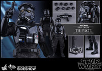 Hot Toys 1/6 First Order TIE Fighter Pilot Star Wars Episode VII The Force Awakens Sixth Scale Figure MMS324