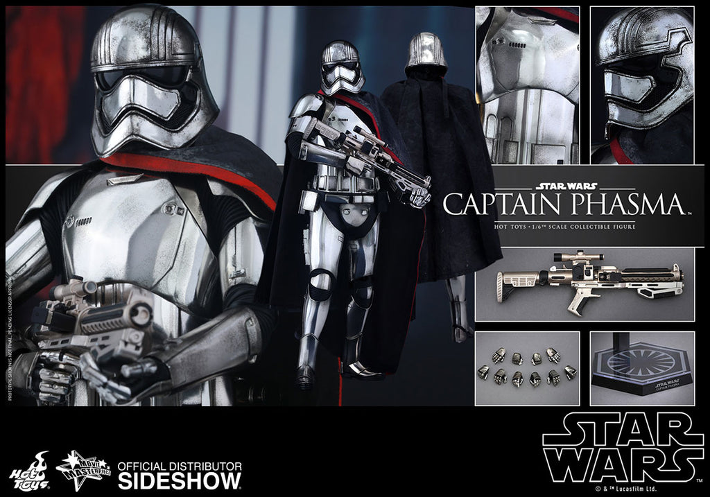 Hot Toys 1/6 Star Wars The Force Awakens Captain Phasma Sixth Scale Figure MMS328