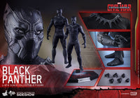 Hot Toys 1/6 Captain America Civil War Black Panther Sixth Scale MMS363