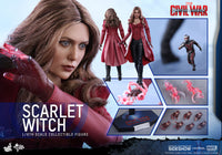Hot Toys 1/6 Captain America Civil War Scarlet Witch Sixth Scale MMS370