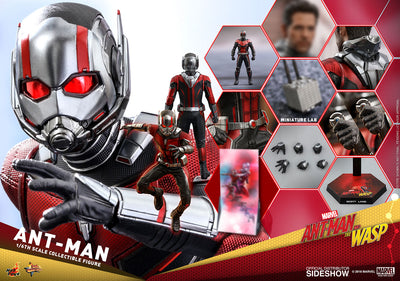 Hot Toys 1/6 Ant-Man and the Wasp Movie Ant Man Sixth Scale MMS497