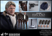 Hot Toys 1/6 Star Wars The Force Awakens Han Solo Sixth Scale MMS374