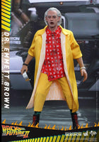 Hot Toys 1/6 Back to the Future II Dr. Emmeret Brown Sixth Scale Figure MMS380 2